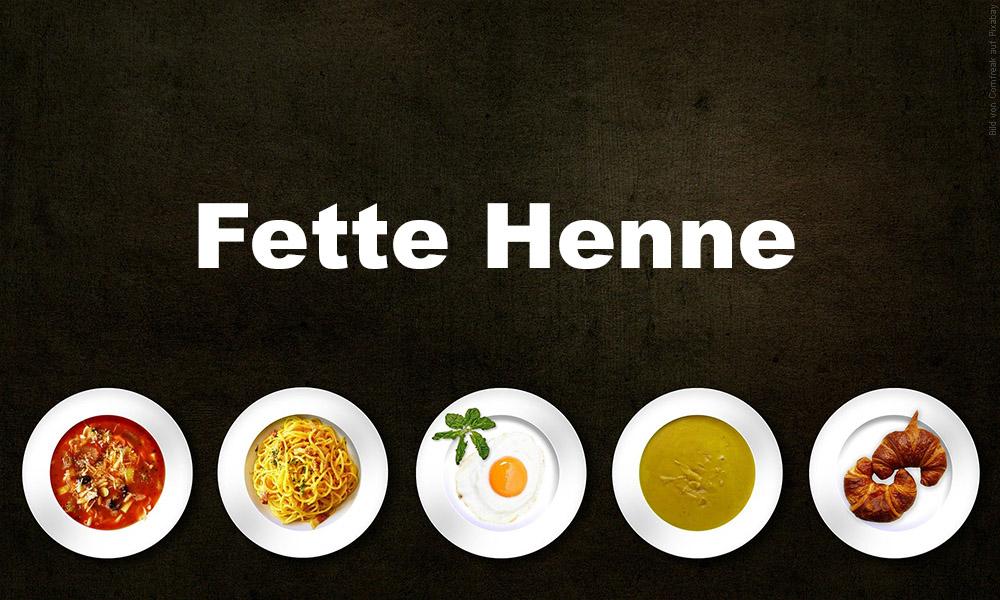 Wochenbett-Ritual Fette Henne