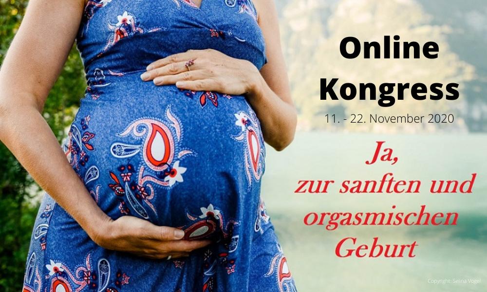 Online-Kongress: Ja zur sanften und orgasmischen Geburt