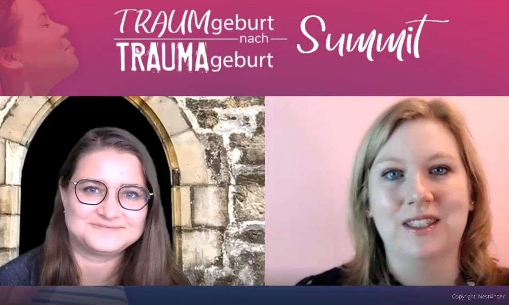 """Online-Summit """"Traumgeburt nach Traumageburt"""" mit Live-Workshops"""