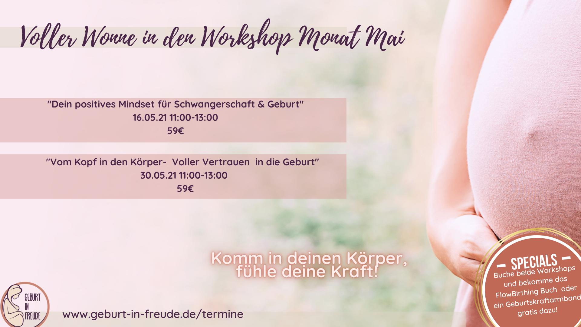 Katrin Früchtl Voller Wonne in den Workshop Monat Mai !