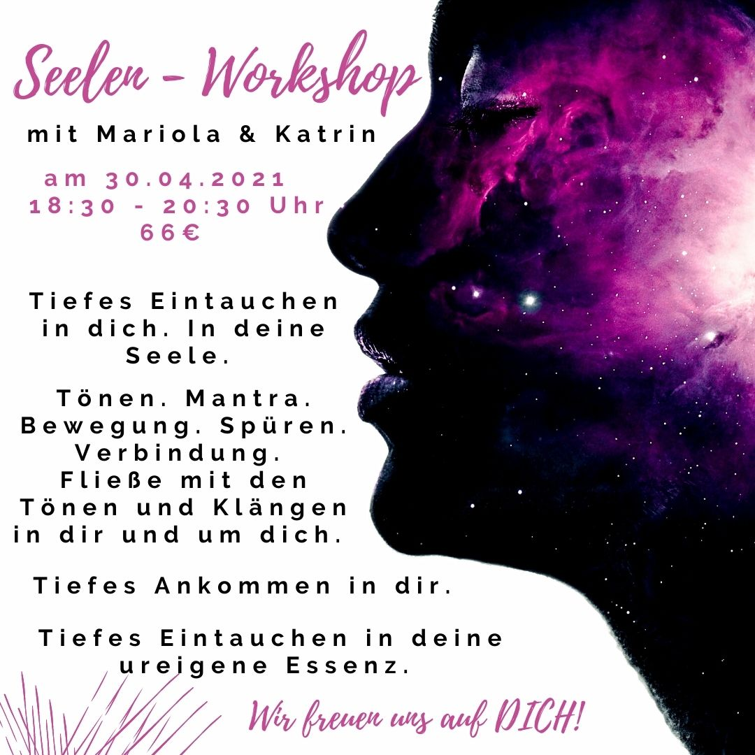 SeelenWorkshop_Mariola und Katrin