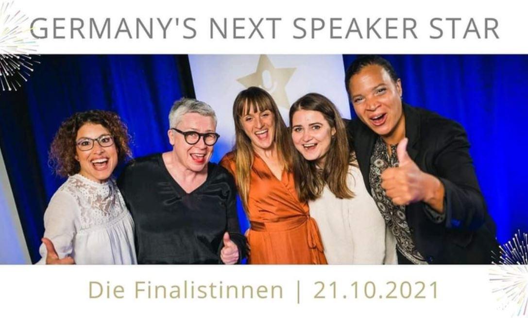 Kristina bei Germany's next speaker star